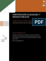 Participacion Ciudadana y Medios Públicos