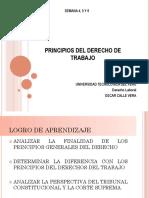 Principios Del Derecho de Trabajo - Derecho Laboral