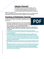 What is a Distribution Channel.docx