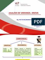 Analisis de Varianza de Un Factor Upsm 2019