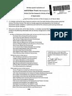CaRT Articles of Assoc. 2012
