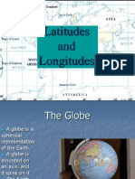Latitudes and Logitudes