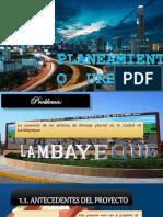 Diseño Del Sistema de Drenaje Pluvial en La Ciudad de Lambayeque