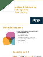 Speaking & Writing Advanced