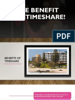 The Benefit of Buying Timeshare!