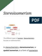 Stereoisomerism - Wikipedia.pdf