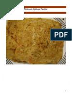 Griddle Fried Cabbage Flatbreads