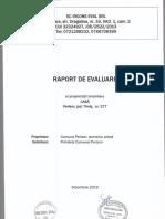 Raport Evaluare Str. Arțarului, Nr. 61