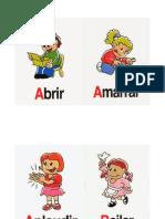 Imagenes de Acciones - Terapia de Lenguaje