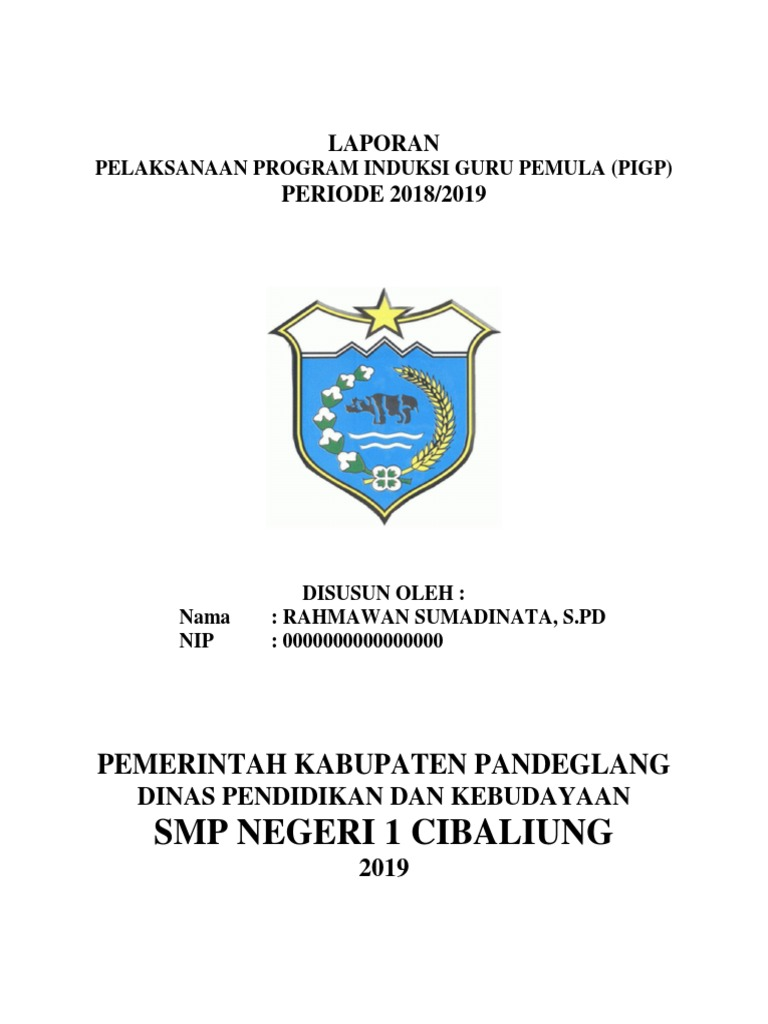 Laporan Pelaksanaan Program Induksi Guru