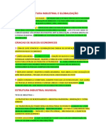 Brasil Estrutura Industiral Mundial