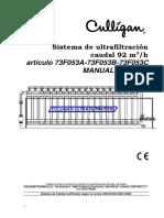 Sistema de Ultrafiltración