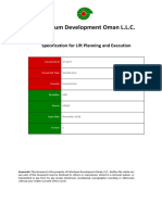 SP-2273 Lift Planning and Excution