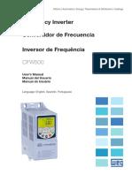 Inversor Encartuchadeira WEG Cfw500 Users Manual