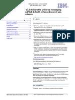 WebSphere MQ 7 Announcement Letter_Apr 2008_ENUS208068