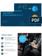 CCNA Cyber Ops 1.1 Enhancements July2018