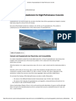 Selection of Superplasticizers for High-Performance Concrete.pdf