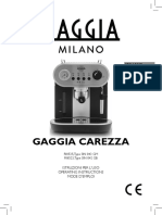 Gaggia It Eng Fr