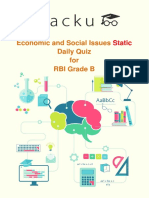 Quiz on Economic and Social Issues (Static)for RBI 18-04-2018- PDF.pdf