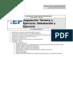 EP1 - Regulación Térmica y Ejercicio_ Hidratación y Ejercici
