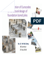 A Misconception of EC on Structural Design of Foundation Bored Piles