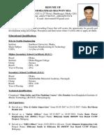 Mohammad Shawon Mia CV-1