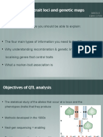 Lecture 2 Qtls and Genetic Maps
