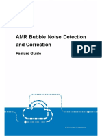 Bubbles Noise Detection and Correction