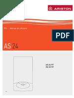 Manual Ariston as 24