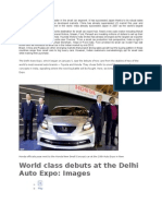India Has Finally Emerged as a Leader in the Small Car Segment
