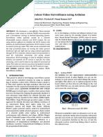 Spy Robot Wireless Video Surveillance Using Arduino