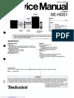 Amplifier SE HD51