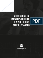Hyperbits - 20 Lessons In Music Production I Wish I Knew When I Started.pdf