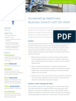versa cs healthcare  sdwan