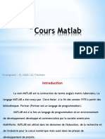 Cours Matlab