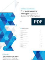 The Maintenance Managers Guide to Digital Transformation