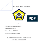 Accounting Standards in Indonesia