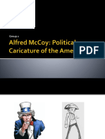 Alfred McCoy - Political Caricatures of the American Era