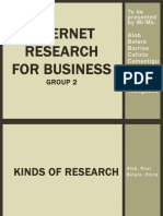 Internet Research-For-Business Report Grp2