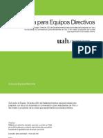 Guía para equipos directivos