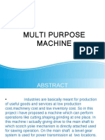 Multi Purpose Machine 1111