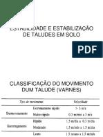 T11 Geo2 - Taludes