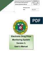 EDPMS User Manual Guide