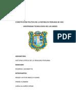 La Constitucion de 1823 Del Peru