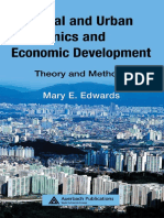 Urban Economics and Development Theory and Methods
