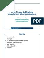 Aulas - Laboratório de Microprocessadores