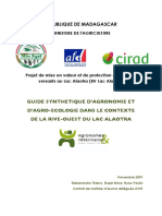 Guide Synthetique d Agroecologie Au Lac Alaotra Madagascar