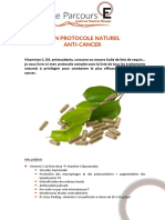 Mon Protocole Naturel Anti Cancer