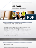 ISO 41001 Facilty Management