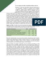 Neuquen libre comercio. La regiones de Chile se benefician de los TLC